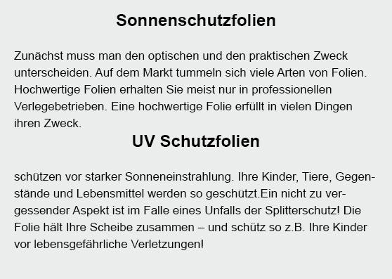 Scheibensonderanfertigungen für  Sachsenheim