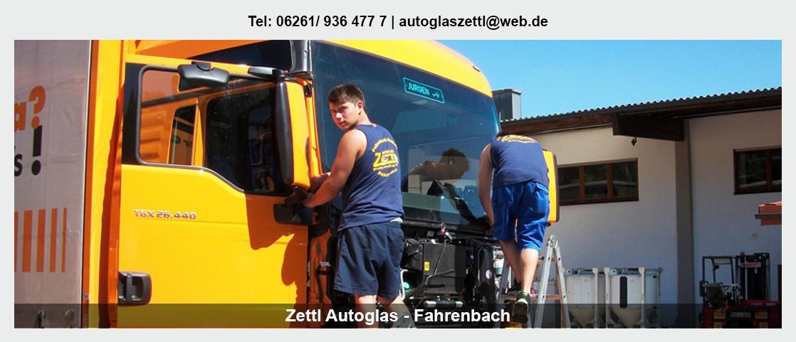 Steinschlagreparatur Schefflenz - autoglas-zettl: Neuverglasungen, Baumaschinen Scheiben
